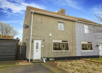2 bed semi-detached house for sale in Park Crescent, Shiremoor, Newcastle Upon Tyne NE27