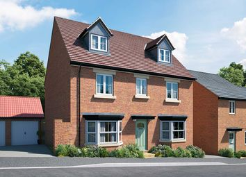 "Thumbnail 5 bed detached house for sale in ""The Langton"" at Hill Top Close, Market Harborough"