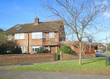 Thumbnail 4 bed semi-detached house for sale in Gaston Bridge Road, Shepperton