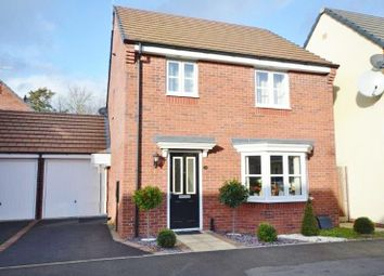 Thumbnail 3 bed detached house for sale in Mallard Close, Leicester