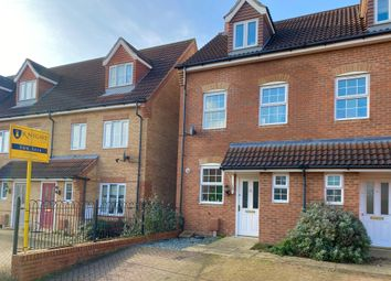 3 bed town house for sale in Ravel Close, Stamford PE9