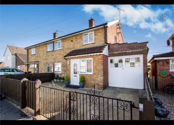 Thumbnail 3 bed semi-detached house for sale in Highfield Road, Stowupland, Stowmarket, Suffolk