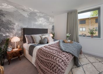 Thumbnail 1 bed flat for sale in The Precinct, Packington Square, London