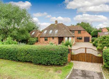 Thumbnail 4 bedroom detached house for sale in Newport Road, Woolstone, Milton Keynes