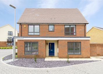Thumbnail 4 bed detached house for sale in Bumpstead Mead, Aveley, South Ockendon, Essex