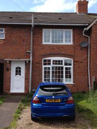 Thumbnail 3 bed terraced house to rent in Flaxhall Street, Walsall, West Midlands