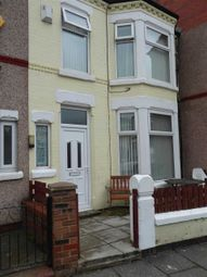 Thumbnail 3 bed terraced house to rent in Bridle Road, Wallasey, Liverpool