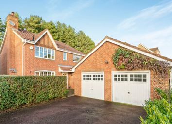 Thumbnail 4 bed detached house to rent in Ramsdell Road, Fleet