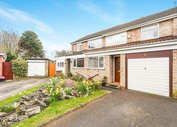 Thumbnail 3 bed semi-detached house for sale in Hilary Close, Eccleston Park, Prescot