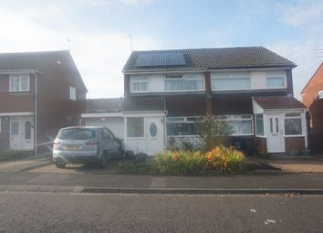 Thumbnail 3 bed semi-detached house for sale in Hersham Close, Kingston Park, Newcastle Upon Tyne