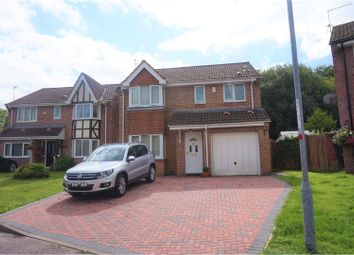 Thumbnail 4 bed detached house for sale in The Meadows, Marshfield