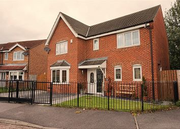 Thumbnail 4 bed detached house for sale in Kingfisher Drive, Barnsley