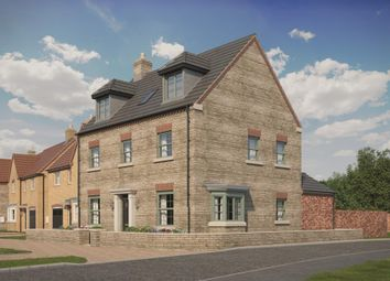 Thumbnail 5 bed detached house for sale in New Yatt Road, North Leigh, Witney