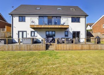 Thumbnail 5 bed detached house for sale in Hawarden Road, Caergwrle, Wrexham