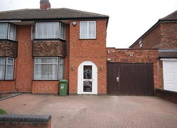 Thumbnail 3 bed property to rent in Leam Crescent, Solihull