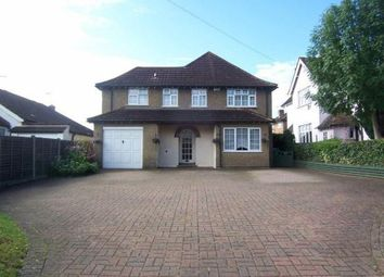 Thumbnail 5 bed detached house to rent in Church Lane, Cheshunt