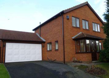 Thumbnail 4 bed detached house for sale in Hartford Court, Bedlington