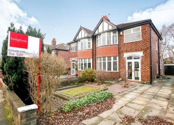 Thumbnail 3 bed semi-detached house for sale in Dean Lane, Hazel Grove, Stockport, Cheshire