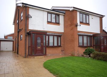 Thumbnail 3 bedroom semi-detached house for sale in Bowgreave Close, Blackpool