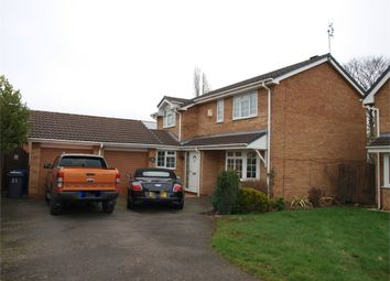 Thumbnail 4 bed detached house for sale in Glencroft Close, Burton-On-Trent, Staffordshire