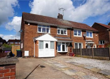 Thumbnail 3 bed semi-detached house for sale in St. Marys Road, Sutton-In-Ashfield