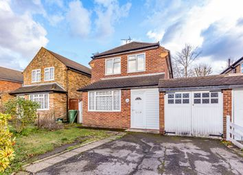 Thumbnail 3 bed detached house for sale in Lake Close, Byfleet