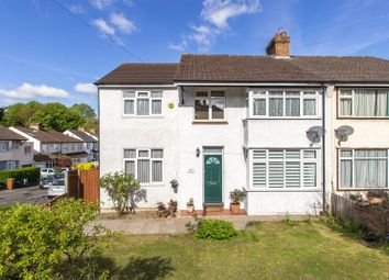 Thumbnail 4 bed semi-detached house for sale in Banstead Road, Carshalton