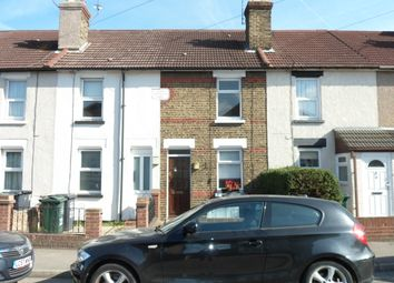 Thumbnail 2 bed terraced house to rent in Milestone Road, Dartford