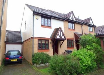Thumbnail 2 bed end terrace house to rent in Trentishoe Crescent, Furzton, Milton Keynes