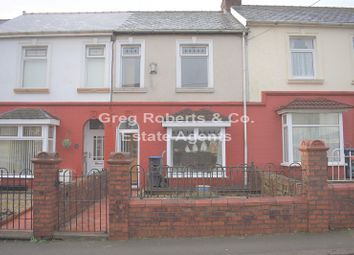 Thumbnail 4 bed terraced house for sale in Fair View, Ebbw Vale, Blaenau Gwent.