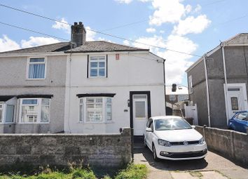 Thumbnail 2 bed semi-detached house for sale in Queens Road, Higher St. Budeaux, Plymouth