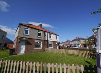 Thumbnail 3 bedroom semi-detached house to rent in Glebe Terrace, Forest Hall, Newcastle Upon Tyne