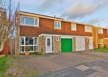 Thumbnail 3 bed semi-detached house for sale in Anzac Close, Stubbington, Fareham