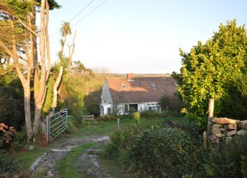 Thumbnail 4 bed semi-detached bungalow for sale in Moorcroft, St. Buryan, Penzance, Cornwall