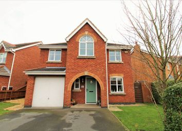 Thumbnail 4 bed detached house for sale in The Green, Hesketh Bank, Preston