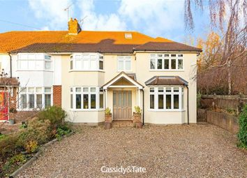 Thumbnail 5 bedroom semi-detached house for sale in St Helier Road, St Albans, Hertfordshire