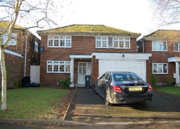 Thumbnail 4 bed detached house to rent in High Road, Woodford Green, Essex.