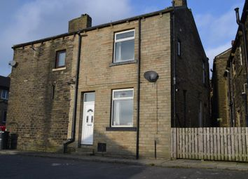 Thumbnail 2 bed end terrace house for sale in South Street, Denholme, Bradford