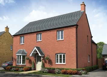 "Thumbnail 4 bed detached house for sale in ""The Kedleston"" at Towcester Road, Old Stratford, Milton Keynes"