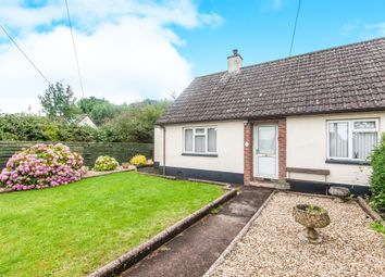 Thumbnail 2 bed semi-detached bungalow for sale in Park Bungalows, Burlescombe, Tiverton