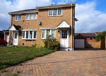 Thumbnail 2 bed semi-detached house for sale in Greenfinch Close, Poole