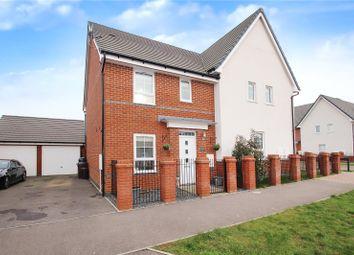Battin Lane, Littlehampton BN17. 3 bed semi-detached house for sale