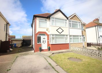 Thumbnail 3 bed semi-detached house for sale in Penrith Avenue, Thornton-Cleveleys