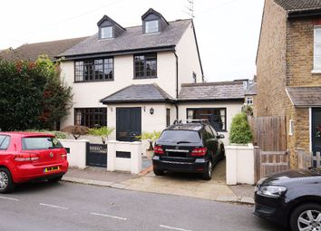 Thumbnail 4 bed detached house for sale in Field Lane, Teddington