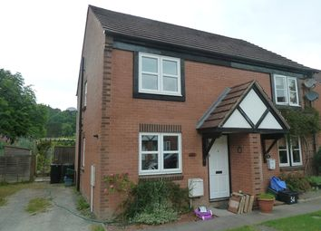 Thumbnail 3 bed semi-detached house to rent in Swains Meadow, Church Stretton
