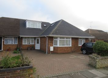 Thumbnail 4 bed semi-detached house for sale in Homedale Drive, Leagrave, Luton