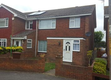 Thumbnail 3 bed semi-detached house for sale in Wall Close, Hoo, Rochester, Kent