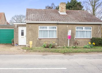 Thumbnail 3 bed detached bungalow for sale in School Road, Runcton Holme, King's Lynn