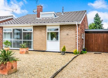 Thumbnail 3 bed detached bungalow for sale in Firs Road, Hellesdon, Norwich