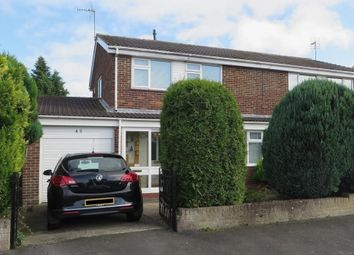 Thumbnail 3 bed semi-detached house for sale in Windermere Drive, West Auckland, Bishop Auckland